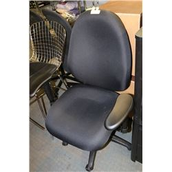 NEW BLACK HYDRAULIC LIFT OFFICE CHAIR