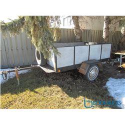 Homebuilt Dump Box Tilt Trailer - Serial 400745380