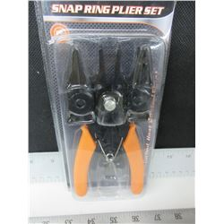 New Snap Ring Plier Set / 4 in 1