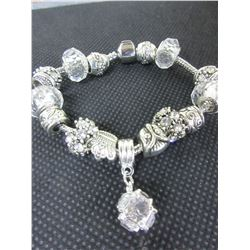 New Pandora style Charm Bracelet