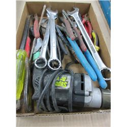 Bundle of Tools / Screw Gun / wrenches / pliers / chanel locks & more