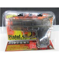 New Air Soft .45 cal Pistol / 200fps spring power / 70bb Magazine