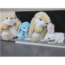 It's Bunny's! Easter is coming / 4 super soft super cute Bunny's / 2 L- 2sm