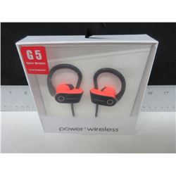 New Power 3 Wireless G5 Sport Headphones with Mic & more