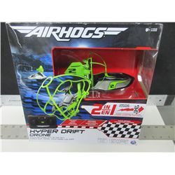 New Air Hogs Hyper Drift Drone 2 in 1 / race on land or fly in the sky