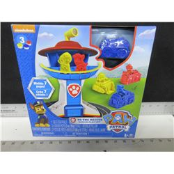 New Paw Patrol Mold and Play / play dough play set