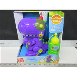 New Walking Bubble Dinosaur / kids Summer fun / comes with bubbles