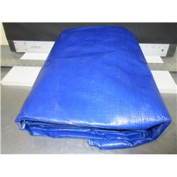 New Heavy Duty Tarp / 12ft x 16ft super tight weave for strength/ high quality