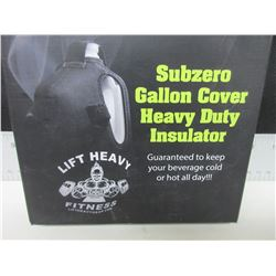 Subzero heavy duty insulator for Gallon of water/ milk jug / great for workouts