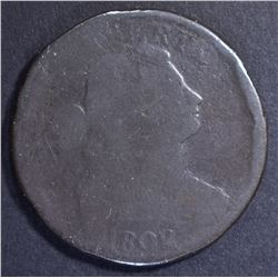 1802 LARGE CENT, AG