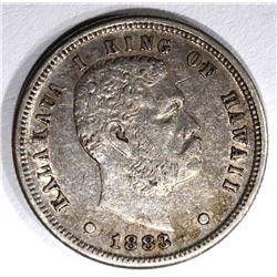 1883 HAWAII DIME, AU