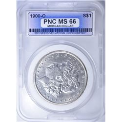1900-O MORGAN DOLLAR  PNC SUPERB GEM