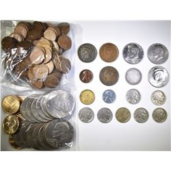 MIXED COIN LOT- GREAT VARIETY