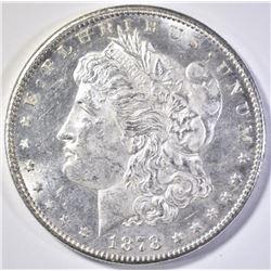 1878-S MORGAN DOLLAR  CH BU  OBVERSE PL