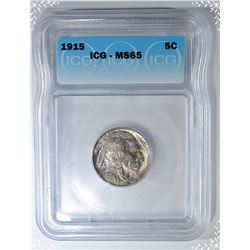 1915 BUFFALO NICKEL  ICG MS-65