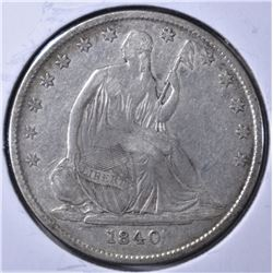1840-O LIBERTY SEATED HALF DOLLAR VF