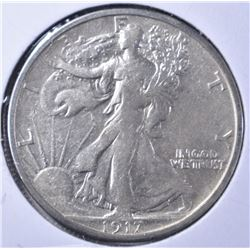 1917-S WALKING LIBERTY XF