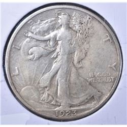 1923-S WALKING LIBERTY XF