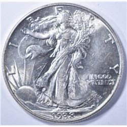 1938 WALKING LIBERTY HALF CH/GEM BU