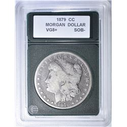 1879-CC MORGAN DOLLAR VG 8+