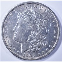 1901 MORGAN DOLLAR AU/BU