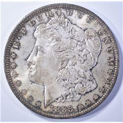 1885-O MORGAN DOLLAR  CLEAN CHEEK GEM UNC