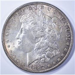 1887 MORGAN DOLLAR  VERY CH UNC