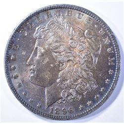 1896 MORGAN DOLLAR  UNC  NICE COLOR