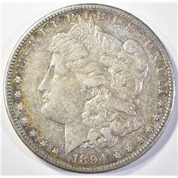 1894-S MORGAN DOLLAR AU KEY DATE