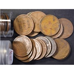 2-ROLLS 1910'S & 20'S LINCOLN CENTS