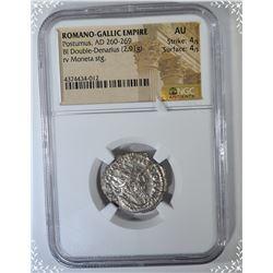 260-269 AD.  ROMANO-GALLIC EMPIRE  POSTUMUS