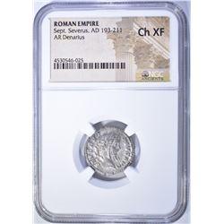 193-211 AD.  ROMAN EMPIRE  SEPT. SEVERUS