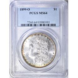 1899-O MORGAN DOLLAR, PCGS MS-64