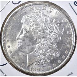 1890-O MORGAN DOLLAR GEM BU