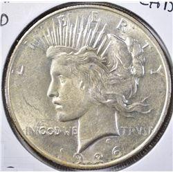 1926-D CH BU PEACE DOLLAR