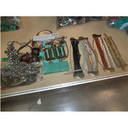 LARGE LOT OF WOMENS HIGH FASHION DESIGNER JEWELERY