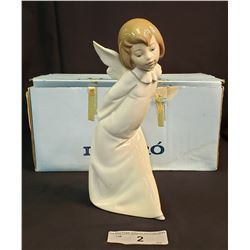 Lladro Angel Farolero