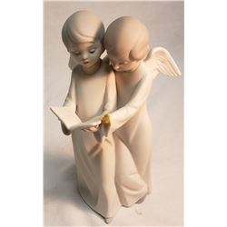 Lladro 2 Angels Singing