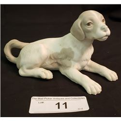 Lladro Dog Laying Down