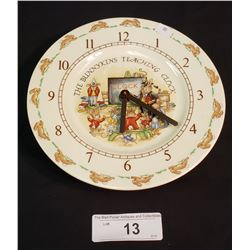 Bunnykins Clock