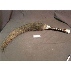 Ivory Horse Hair Whip