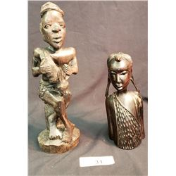 Carved African Statues
