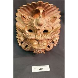 Very Nicely Carved Asian Mask