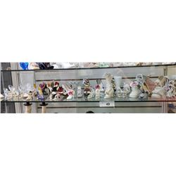Shelf Lot Of Decorative Shoes