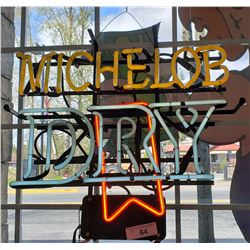 Vintage Michelob Dry Neon Sign
