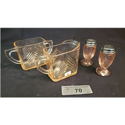 Small Lot Of Depression Glass