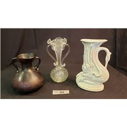 Misc Lot Of Decorative Vases
