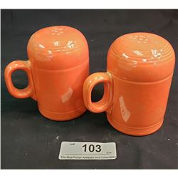 Fiesta Ware Salt + Pepper