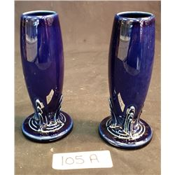 Fiesta Ware Pair Of Vases