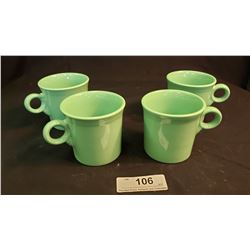 Fiesta Ware  Coffee Mugs - 4